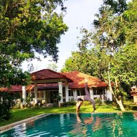 Yoga at Plantation Villa